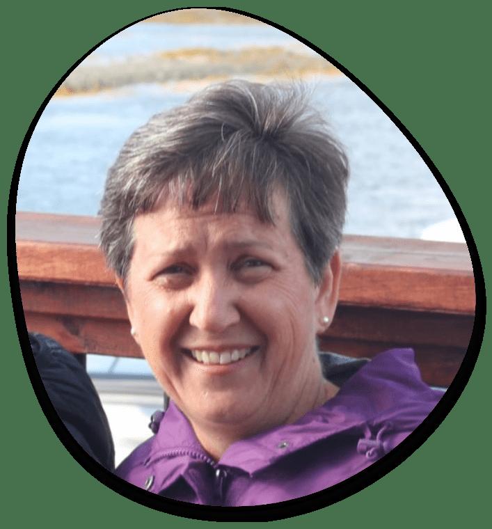 Volunteer Vicki Caume